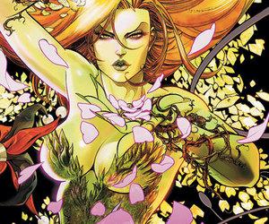 comics, flowers, and poisonivy image