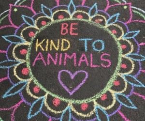 animals, kindness, and vegan image