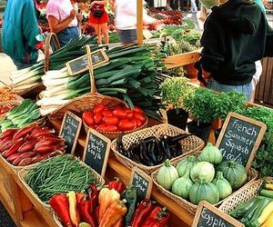 farmers market, market, and sell image