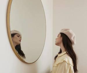 beauty, berret, and fashion image