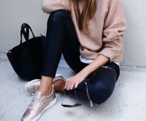 bag, pretty, and casual image
