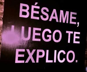 amor, frase, and besame image