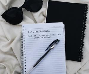 black, tumblr, and glasses image