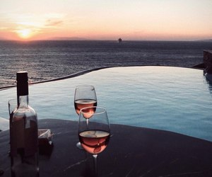 ocean and wine image