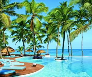 punta cana, paradise, and sea image