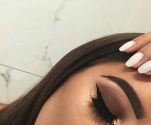 makeup and tumblr. image