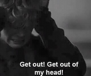 head, sad, and get out image