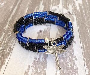 etsy, bangle bracelet, and stacked bracelet image