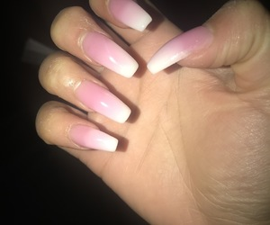gel, nails, and pretty image
