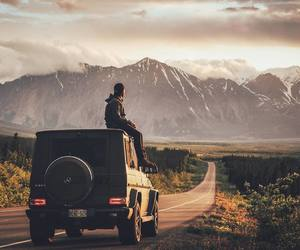 jeep and nature image