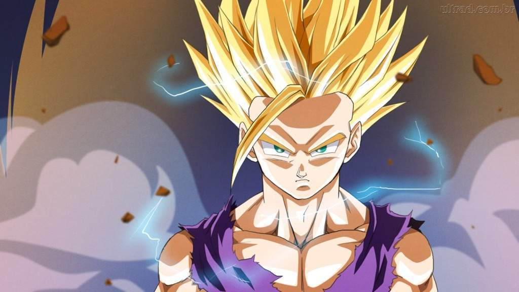 gohan, dragon ball, and anime image
