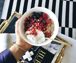 diet, granola, and food image