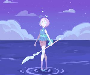 pearl, cartoon, and steven universe image