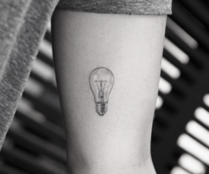 idea, light, and small image