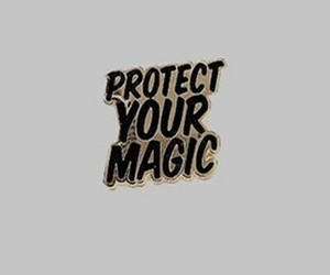 aesthetic, magic, and quote image