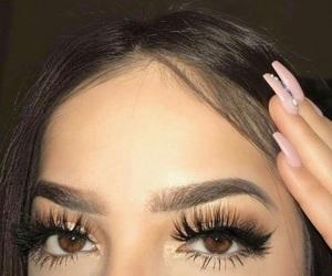 eyebrows, eyes, and luxury image