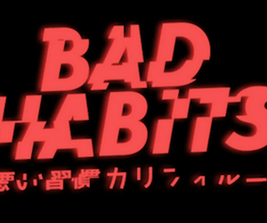 aesthetic and bad habits image