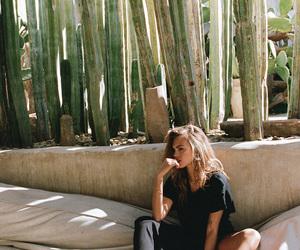 cactus, fashion, and girl image
