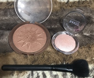 brush, highlighter, and pretty image