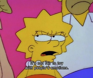 the simpsons, simpsons, and emotions image
