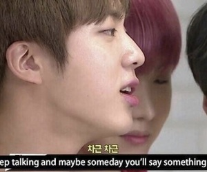 humor, jin, and bts image