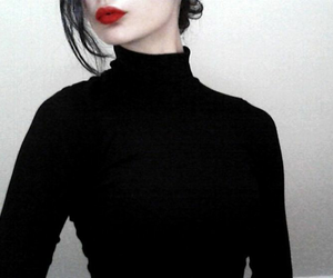 black, girl, and lips image