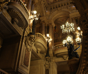 paris and garnier opera image