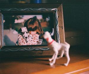 girl, dalmatian, and dog image