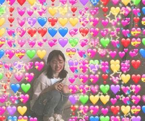 heart, korean, and kpop image