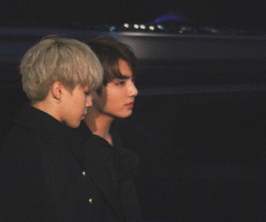 bts, jikook, and jungkook image