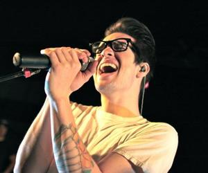 brendon urie, panic! at the disco, and glasses image