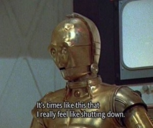star wars, quotes, and c3po image