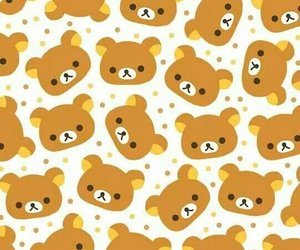 wallpaper, rilakkuma, and bear image