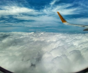 clouds, Philippines, and sea of clouds image
