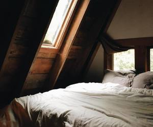 autumn, bedroom, and cabins image