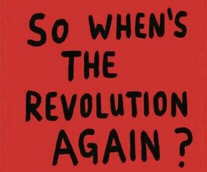 red and revolution image