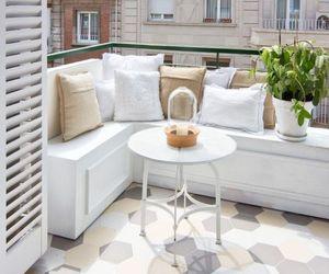 apartment, balcony, and decoration image