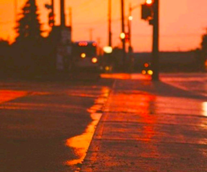 orange, aesthetic, and street image