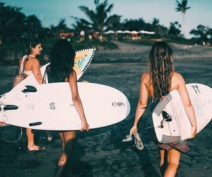 surfing, tumblr, and friends image