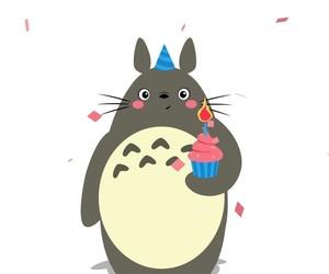 happy birthday, mi vecino totoro, and My Neighbor Totoro image