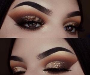 eyebrows and eyelashes image