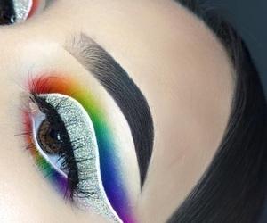 extra, eyebrows, and eyelashes image