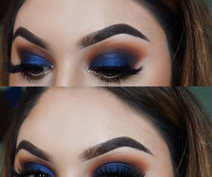 blue, extra, and eyebrows image