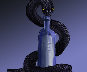 background, bottle, and creative image
