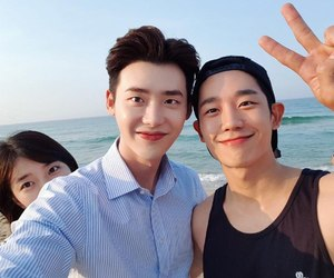 kdrama, while you were sleeping, and jung hae in image