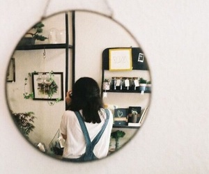 girl, mirror, and photography image