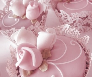 pastel, rose, and pink image