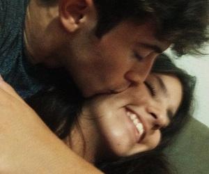 couple, kiss, and pic image