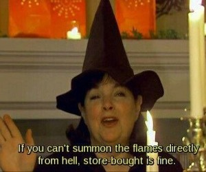 witch, quotes, and funny image