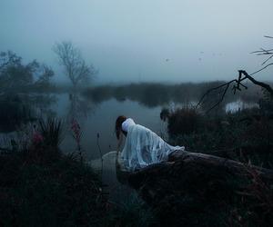 photography, dark, and dress image